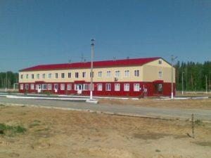 Общежитие для офицеров, г. Кизнер, Удмуртия
